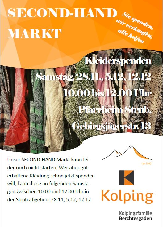Second-Hand-Markt der Kolpingsfamilie